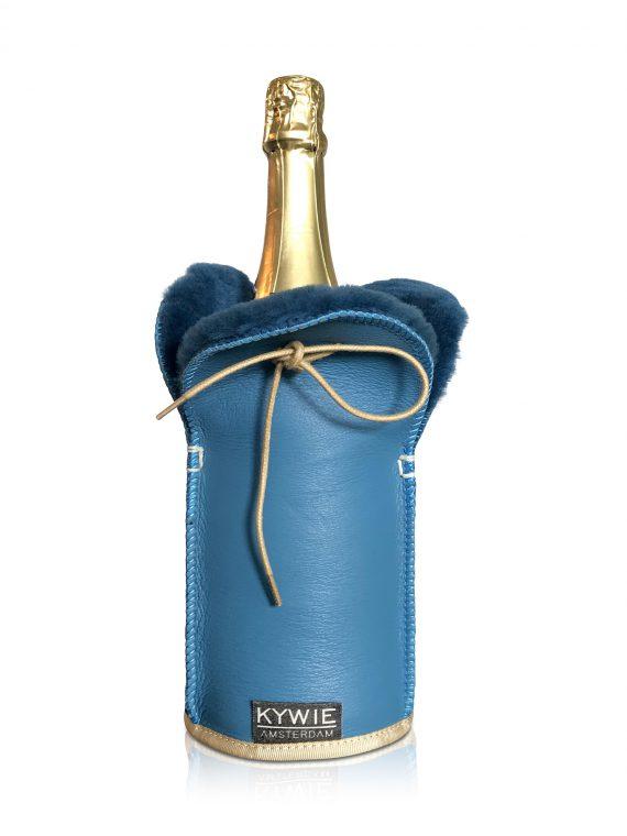 kywie champagne turquoise sheepskin