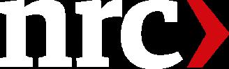 NRC Logo Wit